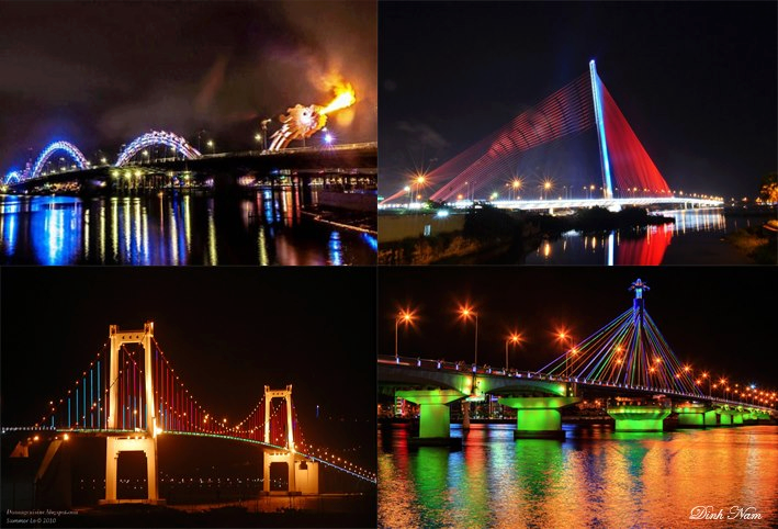 Da Nang – The Famous City Bridges in Vietnam